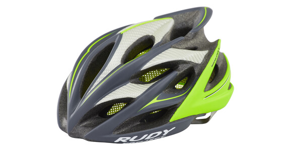 Rudy Project Windmax Helm graphite/lime fluo matte